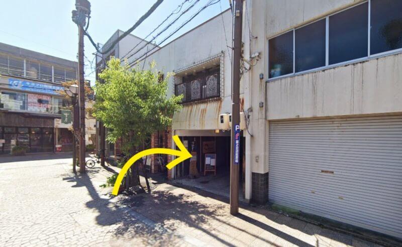 松江市末次本町にあるビストロクールの外観