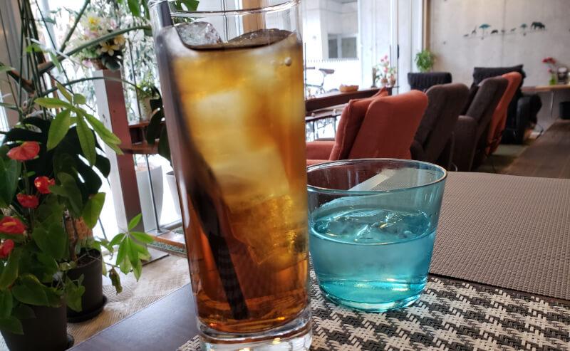 松江市寺町にあるcafe&barFrancのドリンク