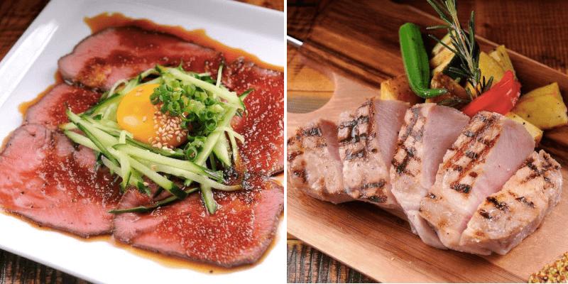 松江市にあるニクバルダカラの料理