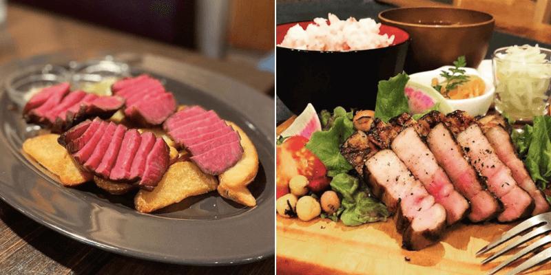 松江市にある山芳ばるのお肉メニュー