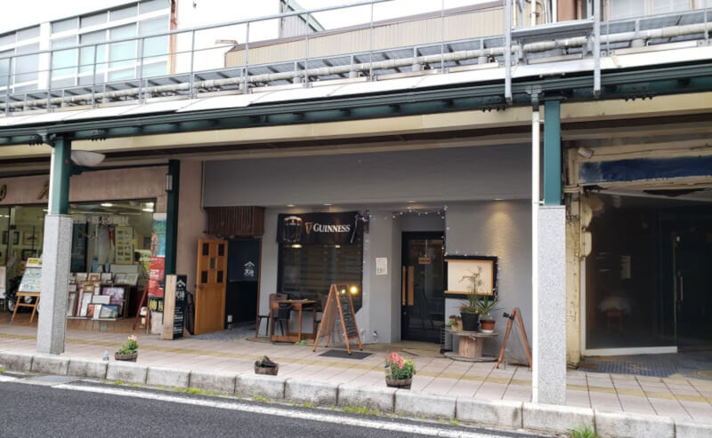 松江市天神町にあるギルドの外観