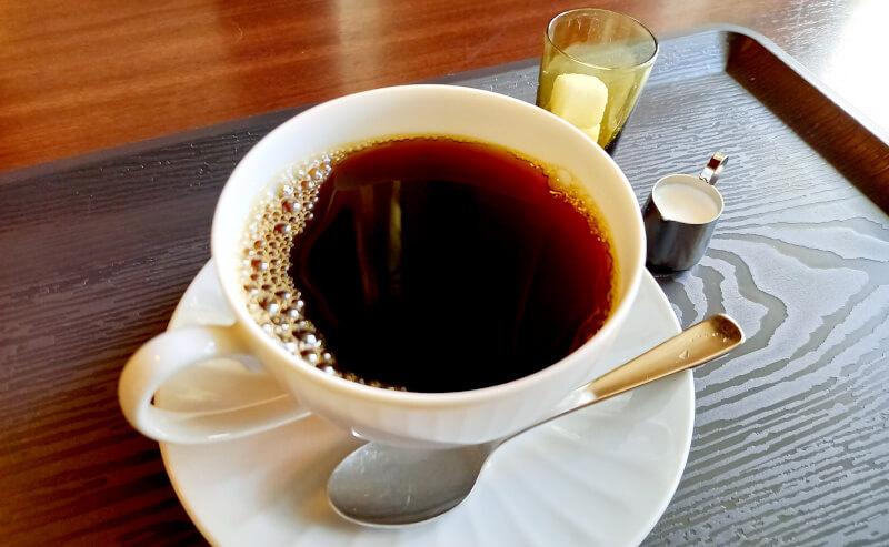 亀田山喫茶室のコーヒー