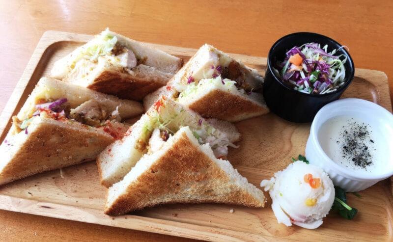 松江市黒田町にあるここなのサンドイッチ