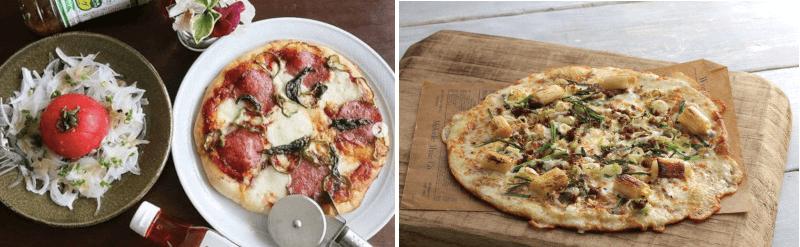 松江市学園にあるピエトロのピザ