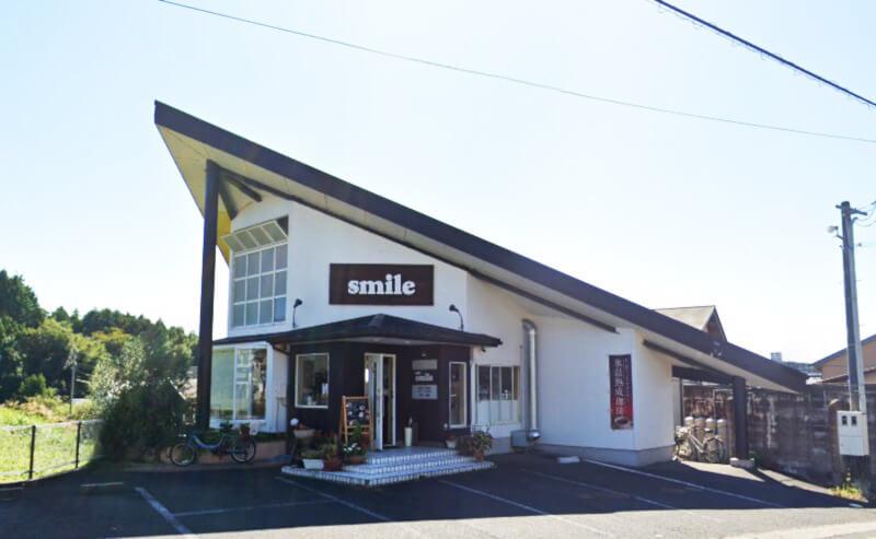 松江市春日町にあるsmileの外観