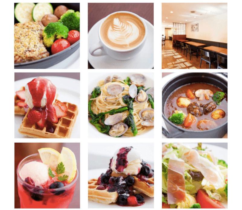 松江市学園にあるカフェブランのランチやドリンク