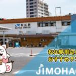 松江駅周辺のおすすめランチ情報!