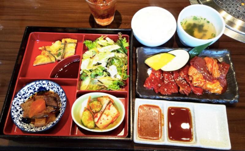 松江市にある焼肉韓食房だんだんの焼肉ランチ