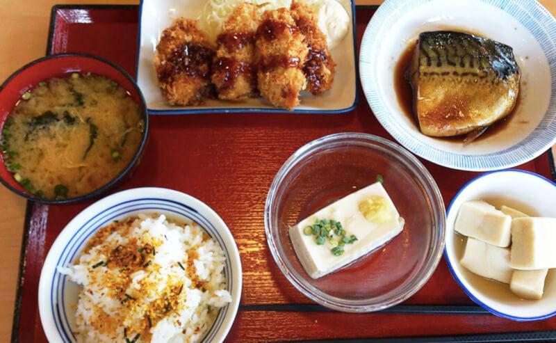 松江市にあるごはんや西津田食堂の和食
