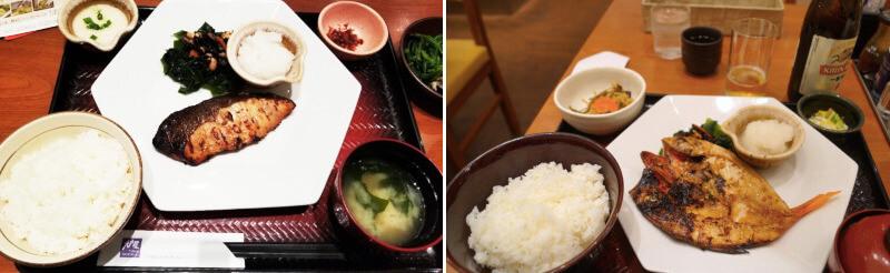 松江市のイオン松江店ないにある大戸屋の和食