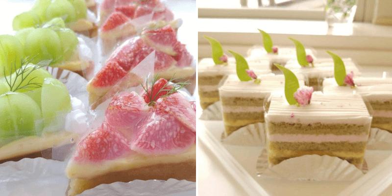 松江市田和山にあるモントローネのケーキ