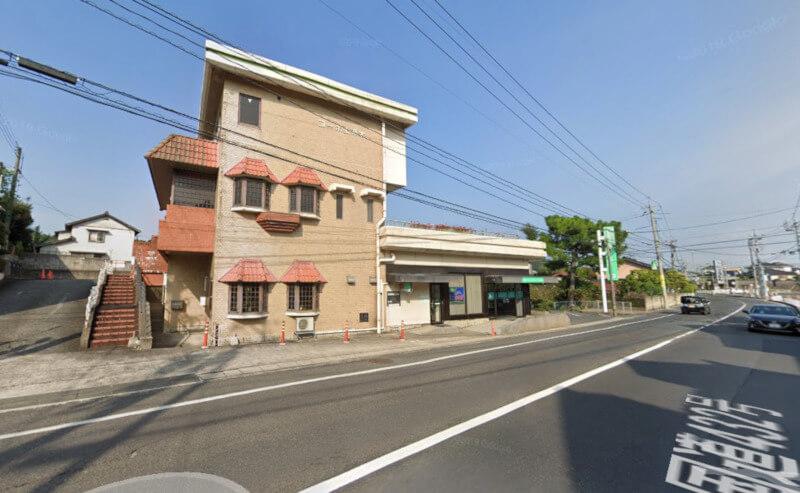 松江市上乃木にあるカフェシエルブルーの外観