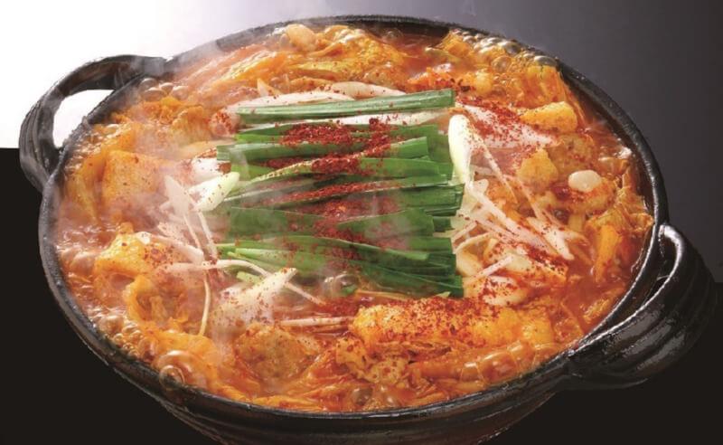 松江市寺町にある赤からの鍋