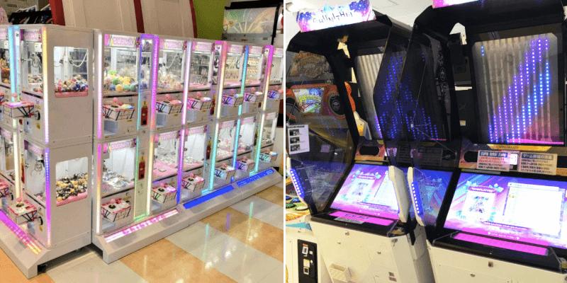 松江市東朝日町にあるゲームセンターのアミパラ